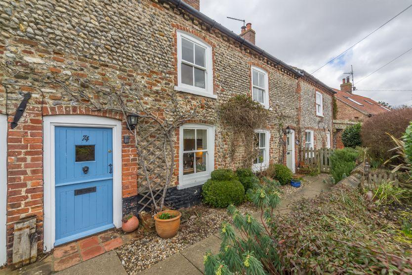 Muckledyke Cottage is located in Stiffkey