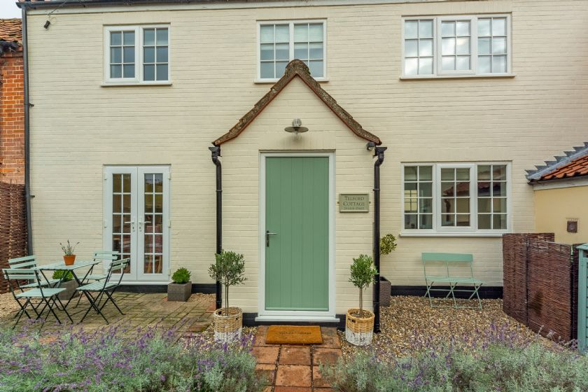 Telford Cottage is located in Foulsham